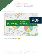 Bài Mẫu IELTS Writing Task 1 - IELTS Fighter