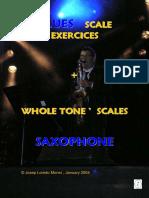 Blues Scale Exercices Saxophone (Demo)