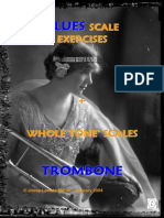 Blues Scale Exercices Trombone (Demo)