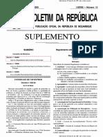 Decreto 6.2009 Regulamento de Gestao de Pesticidas