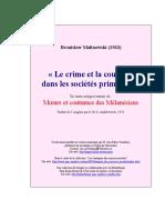 Malinowski - 1933 - « Le crime et la coutume dans les sociétés primitives ».pdf