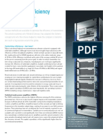 Optimizing Efficiency of High Power TV Transmitters