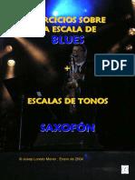 Ejercicios Escala Blues Saxofón (Demo)