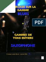 Exercices Gamme Blues Saxophone (Démo)