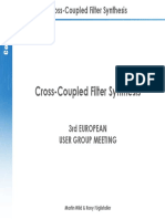 Cross-Coupled Filter Synthesis