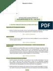 Actualité reglementaire et legslitaives de Mai 2010