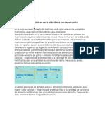 Aplicación de Las Matrices en La Vida Diaria Para
