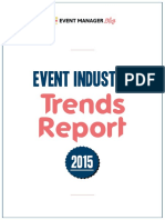 Event Industry Trends Report 2015