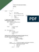 Unitops.ch11 Problems