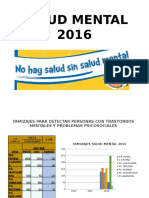 Salud Mental 2016