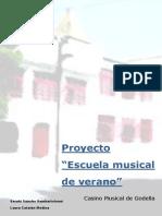 Escuela Musical de Verano1 Proyecto PDF