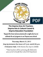 smyrna art show invite 2017 pdf
