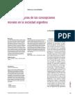 Dora Barrancos 2013 Trampas-Avances y r Moras de Las Concepciones Morales en La Sociedad Argentina