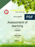 Field study 5
