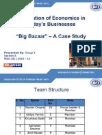 Big Bazaar Case Study 11.07.10
