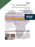 Boletín nº 1 BOLETÍN OSINT Nº 1 – ÁREA SAHEL / CEDEAO   6 a 13 de marzo de 2017