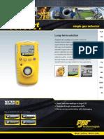 Gas Alert Extreme Data Sheet 555812 En