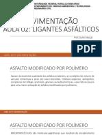 Aula 02 - Ligantes Asfálticos UFERSA