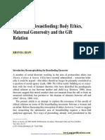 Shaw Theorizing Breastfeeding