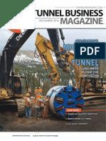 Tunneling business magazine -2016