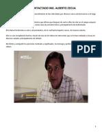 Psicotronica Del Contactado Alberto Zecua