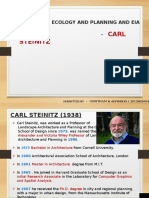 Carl Steinz landscape architect