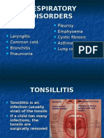 Respiratory Disorders Ppt
