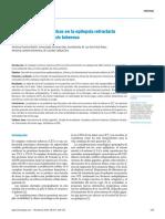 Posibilidades terapéuticas en la epilepsia refractaria en el complejo esclerosis tuberosa