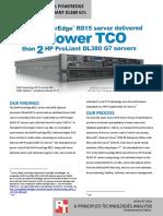 PowerEdge R815 vs HP TCO 0810