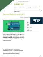 Comment Flasher Et Réparer Une Clé USB
