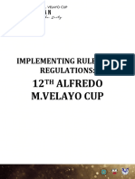 12th Amv Cup Irr