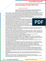 Current Affairs Pocket PDF - December 2016 by AffairsCloud