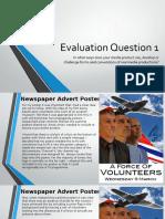 A2 Evaluation Question 1