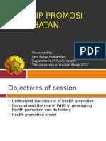 Prinsip Promosi Kesehatan by Yayi IKM FK UGM 2012