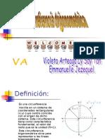 La Circunferencia Trigonometrica