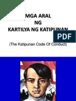 Kartilya Ng Katipunan by Emilio Jacinto