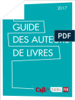 Guide Des Auteurs de Livres 2017