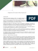 Reglamento Catad'or 2017
