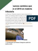 cambios contables 2016