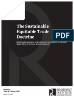 The Sustainable Equitable Trade Doctrine