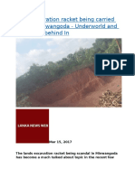 Land excavation racket being carried out in Minuwangoda.docx