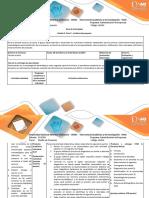 Guia de Actividades y Rúbrica de Evaluación Fase 2. Análisis Del Proyecto