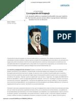 2 La Ocupación Del Lenguaje _ Opinión _ EL PAÍS