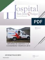 Informe Gestion Mzo 2015