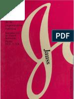 179185518 Estetica Hans Robert Jauss Pequena Apologia de La Experiencia Estetica PDF