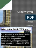 Scheffe's Test