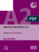 327274360 Goethe Zertifikat A2 Modellsatz Erwachsene