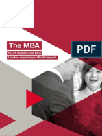 London Business School Brochure