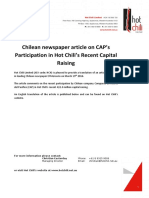 HCH8El Mercurio Article on CAP and HCH in Chilean Press05042016