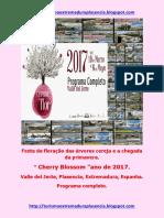 Cerezo en Flor 2017.Portugues
